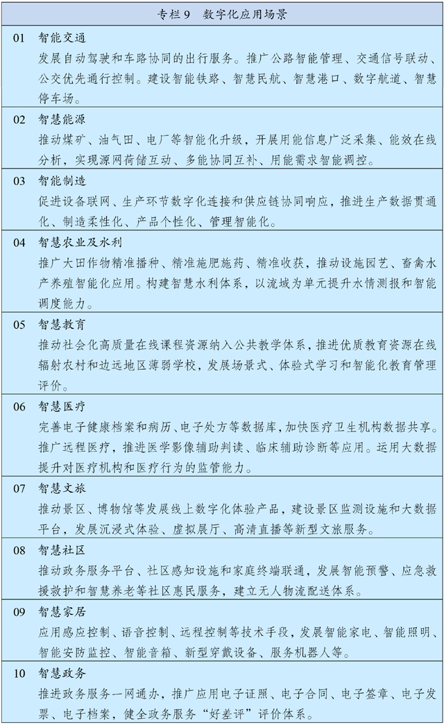 中华人民共和国国民经济和社会发展第十四个五年规划和2035年远景目标纲要插图(10)